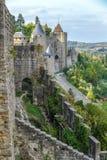 carcassonne城堡法国科教文组织 城堡 免版税库存照片