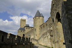 carcassonne城堡 免版税图库摄影