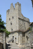 Carcassonne城堡  图库摄影