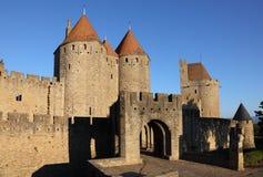 carcassonne法国 库存图片