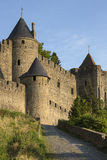 Carcassonne - Γαλλία στοκ εικόνες