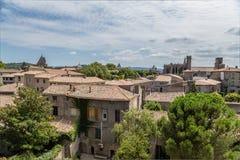 Carcassonne, Γαλλία Στοκ εικόνες με δικαίωμα ελεύθερης χρήσης