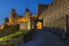 Carcassonne - Франция стоковое изображение rf