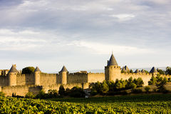 Carcassonne. In Languedoc-Roussillon, France Stock Images