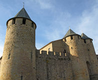 carcassonne 库存图片