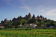 carcassonne arkivbilder
