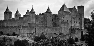 Carcassonne Royalty-vrije Stock Foto's