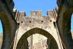 carcassonne стоковая фотография