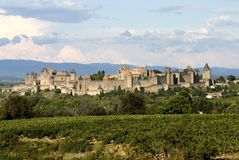 Carcassonne Photo libre de droits
