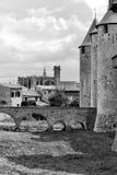 Carcassonne Images libres de droits