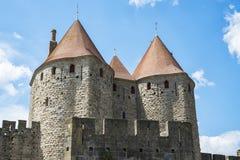 Carcassonne Stockbild