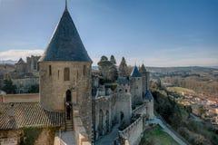 Carcassonne Arkivfoton