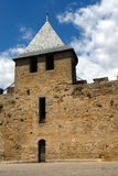 Carcassonne castel, France Royalty Free Stock Images