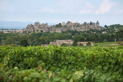 Carcassonne castle Stock Photos