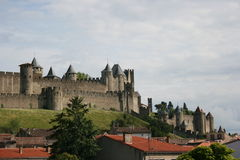 Carcassonne Castle Stock Photography