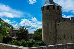 Carcassonne Castle City Royalty Free Stock Images
