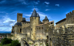 Carcassonne castle - France Stock Photos
