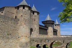 Carcassonne castle Stock Photos