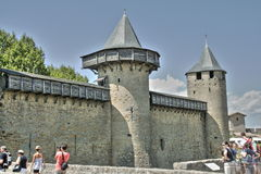 Carcassonne castle Stock Photography