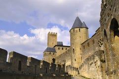 Carcassonne castle Stock Photo