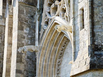 Carcassonne Cathedral, France Stock Images