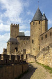 Carcassonne Citadel - France Stock Photo