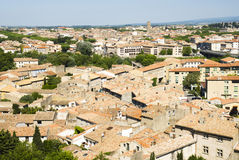 Carcassonne cityscape Royalty Free Stock Photos