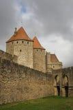 Carcassonne-Festung Stockfoto