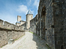Carcassonne  fortress Royalty Free Stock Image