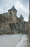 Carcassonne  fortress Royalty Free Stock Images