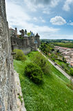 Carcassonne  fortress Stock Images