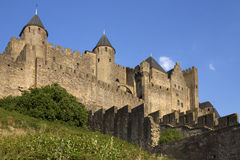 Carcassonne Fortress - France royalty free stock photos