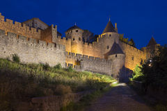 Carcassonne Fortress  - France Stock Photography