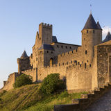 Carcassonne Fortress - France stock photos