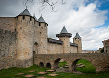 Carcassonne  fortress Stock Image