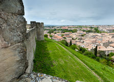 Carcassonne  fortress Stock Photos