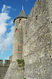 Carcassonne fortress Royalty Free Stock Photos