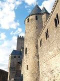 Carcassonne-France Stock Photo