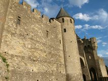 Carcassonne-France Stock Images