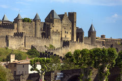 Carcassonne - France stock images