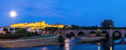 carcassonne france Royaltyfri Foto