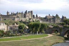 Carcassonne,France Royalty Free Stock Photos