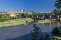 Carcassonne France Images libres de droits
