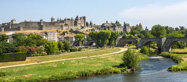 Carcassonne (France) Royalty Free Stock Images