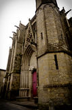 Carcassonne, France, the cathedral Stock Photo