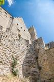 Carcassonne, France. Impregnable medieval fortress. UNESCO list Stock Images