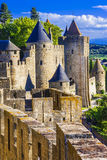Carcassonne (France, Languedoc) Royalty Free Stock Photos