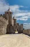 Carcassonne, France. The majestic medieval castle. UNESCO List Stock Photo
