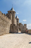 Carcassonne, France. The majestic medieval castle. UNESCO list Royalty Free Stock Image