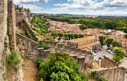 Carcassonne. France royalty free stock photos